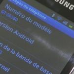 Samsung Galaxy Y - vue 11