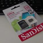 SanDisk Ultra micro SD 200GB - vue 01
