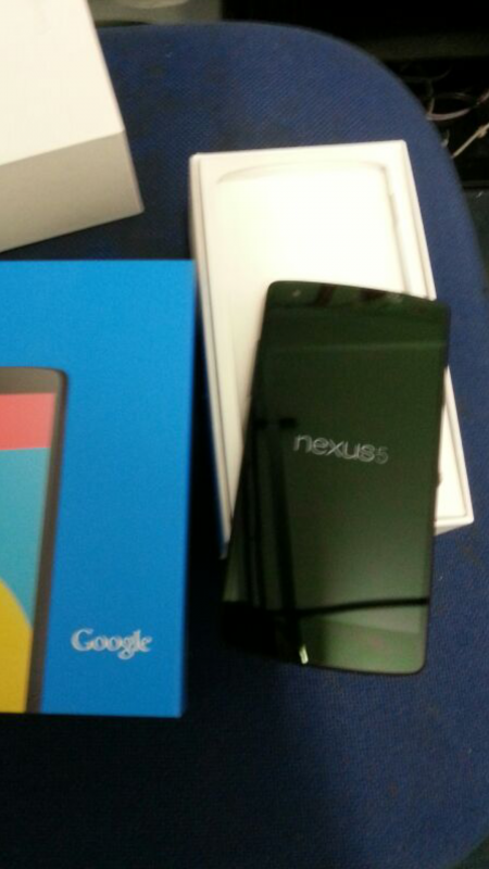 Nexus 5 : Benchmark, application Android et photo de déballage