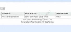 Sony Xperia E Dual (C1605) – rumeur