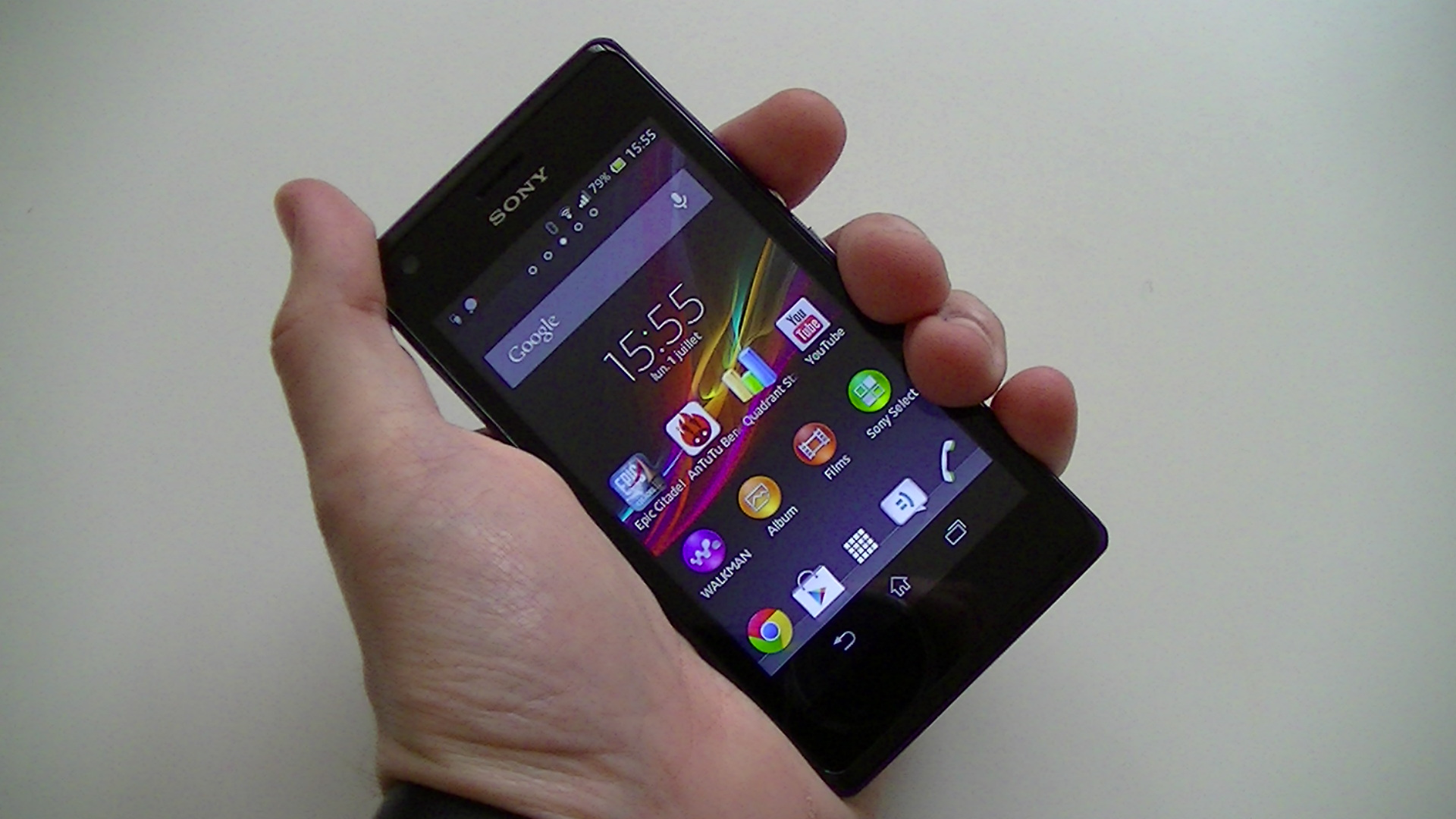 comment ouvrir le portable sony xperia u