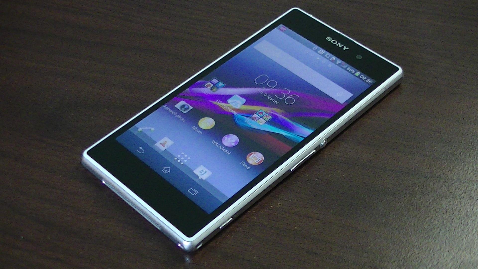 Test du Sony Xperia Z1 : ré-édition d'un haut de gamme