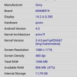 Sony Xperia Z1 - vue 09