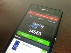 Sony Xperia Z2 - vue 05