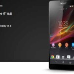 Sony Xperia ZL &#8211; officialis au CES 2013