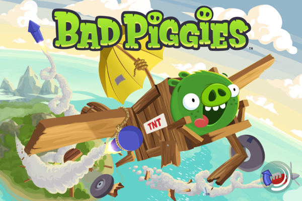 Test de Bad Piggies, un jeu de Rovio