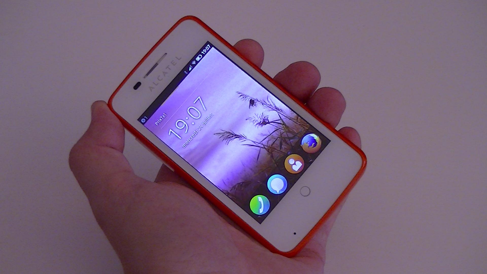 Test de l'Alcatel One Touch Fire : en avant-première