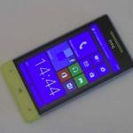 Test du HTC 8S - vue 01