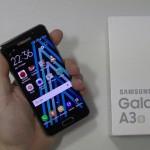 Test du Samsung Galaxy A3 - vue 01
