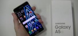 Test du Samsung Galaxy A5 2016 : quand le look compte