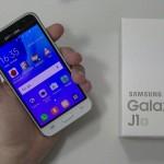 Test du Samsung Galaxy J1 2016 - vue 01