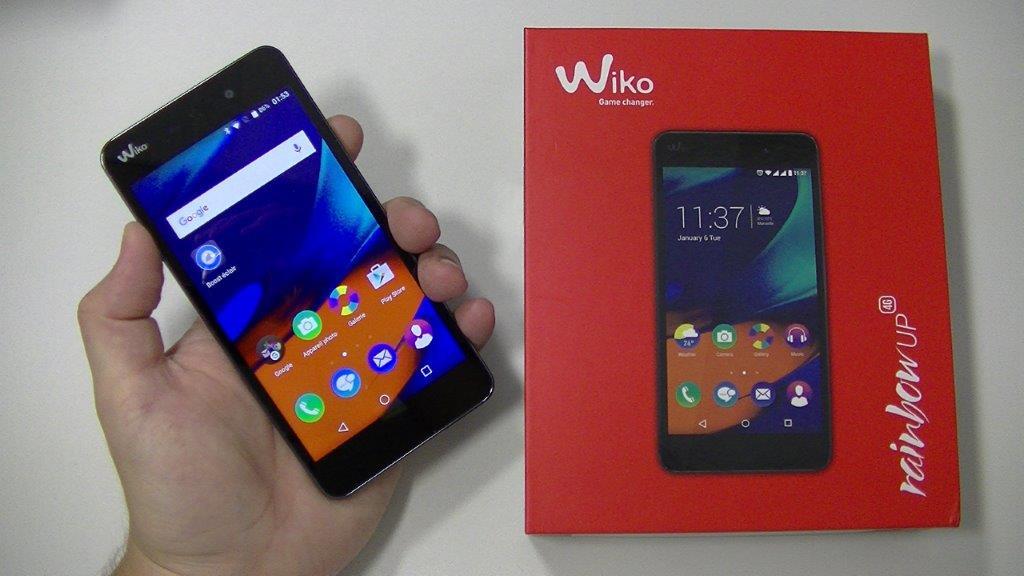 Pour Wiko Arc-En-confiture 4G LCD Display + Écran Tactile Panneau Numérique  Pièces