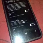 Fonction Sauvegarde de Batterie