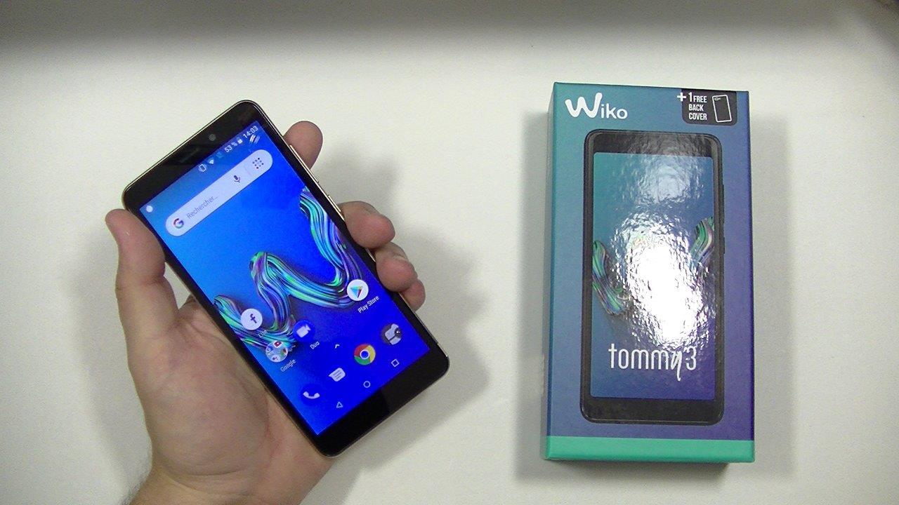 Test du Wiko Tommy 3   écran 18 9 et connexion 4G   Top For Phone 0b10fcb06b57