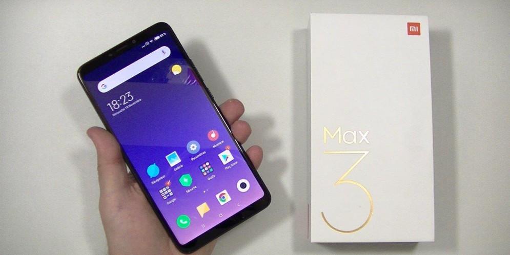 Test du Xiaomi Mi Max 3 : grand écran et grosse batterie