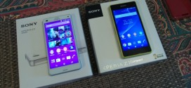 Test comparatif Sony Xperia Z3 Compact vs Sony Xperia Z1 Compact