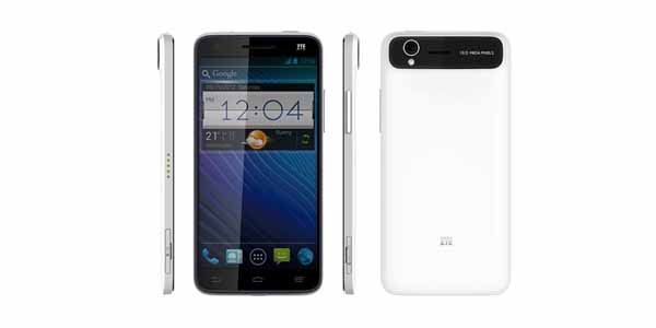 ZTE Grand S – officialisé au CES 2013