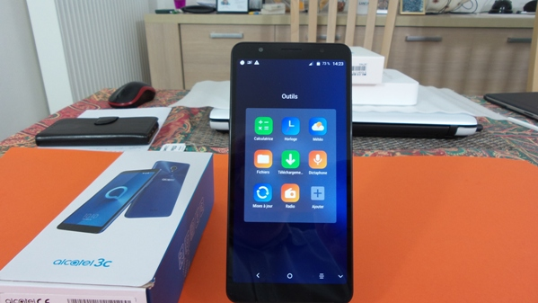 alcatel 3c - vue 14