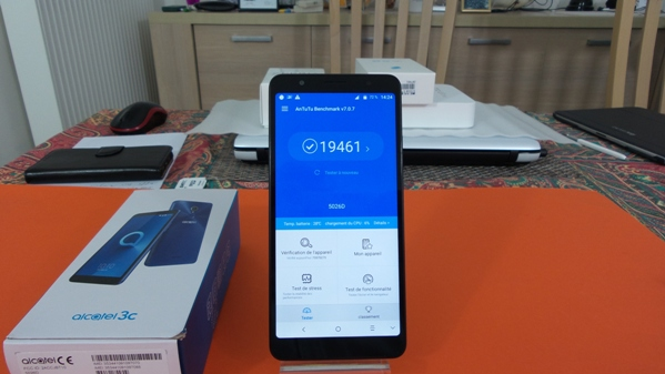 alcatel 3c - vue 16