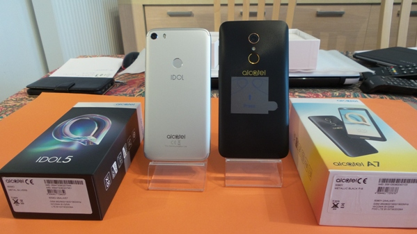 alcatel idol 5 vs alcatel a7 - vue 02
