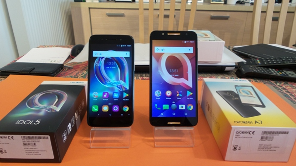 alcatel idol 5 vs alcatel a7 - vue 06