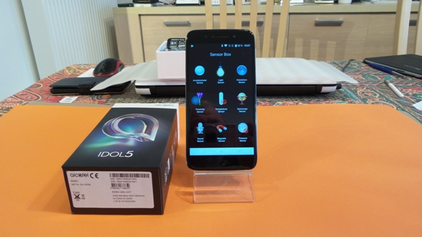 alcatel idol 5 - vue 18