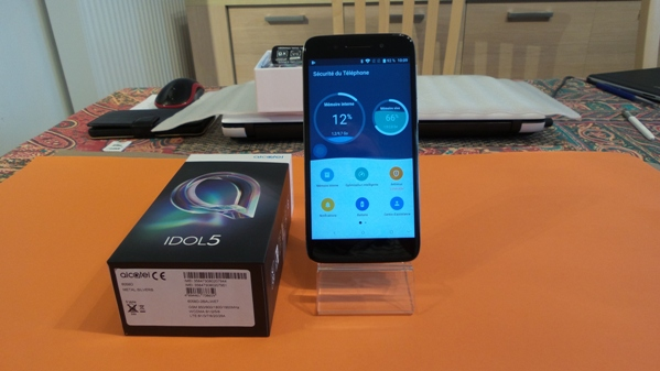 alcatel idol 5 - vue 19