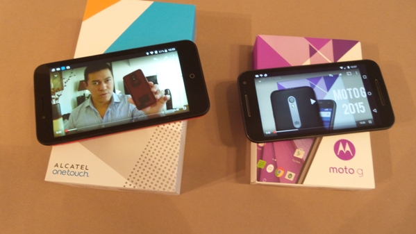 alcatel ot go play vs moto g 3 - vue 16