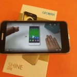 alcatel shine lite - vue 20
