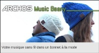 Test de l'Archos Music Beany : un bonnet connecté