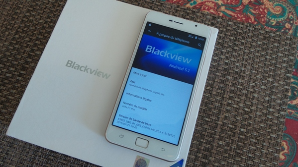 blackview alife p1 pro - vue 13