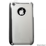 Coque mirroir argent iPhone 3G et iPhone 3Gs