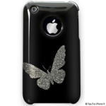 Coque papillon pour iPhone 3G et iphone 3Gs