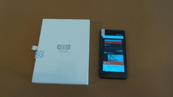 elephone p6000 pro - vue 17