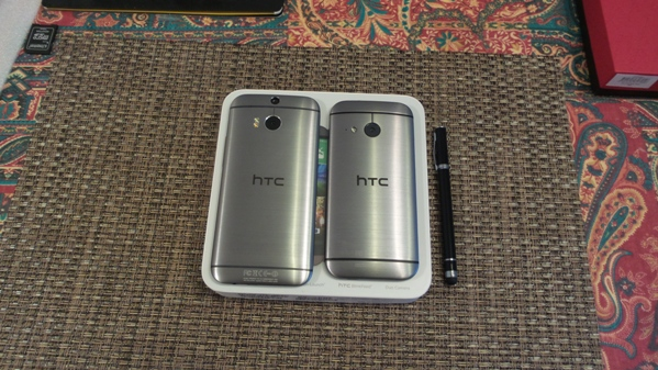 htc one m8 vs htc one mini 2 - vue 12