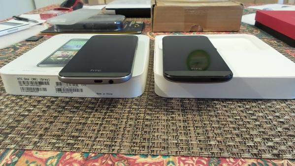htc one m8 vs htc one mini 2 - vue 14