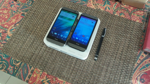 htc one m8 vs htc one mini 2 - vue 21
