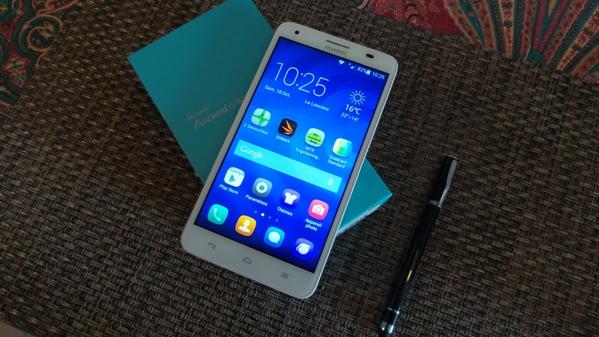 Test du Huawei Ascend G750 : un phablet intéressant