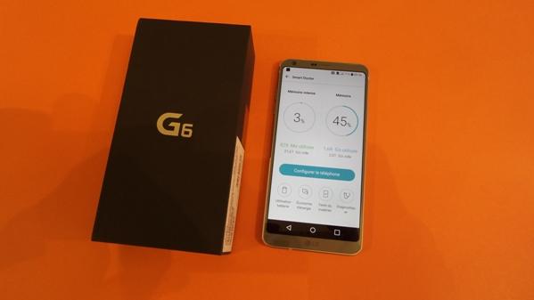 lg g6 - vue 19