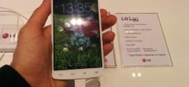 Présentation du LG L80 #MWC14