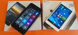 Test comparatif Microsoft Lumia 640 vs Microsoft Lumia 650 : les prix baissent