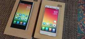 Test compatatif Xiaomi Mi3 vs Mi4 : combat fraternel