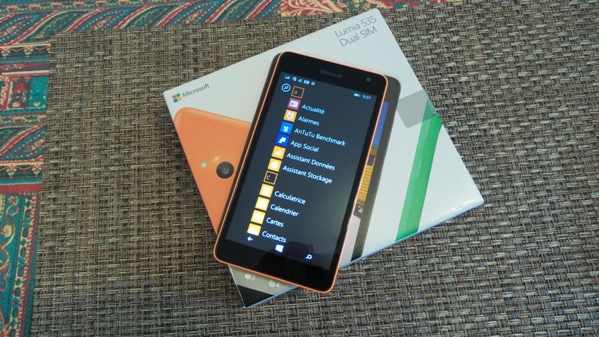 microsoft lumia 535 - vue 10