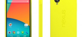 Google Nexus 5 : maintenant une version jaune