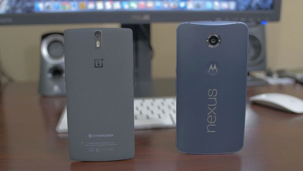 nexus 6 vs oneplus one - vue 20