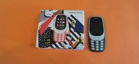 Test du Nokia 3310 (2017) : la madeleine de Proust