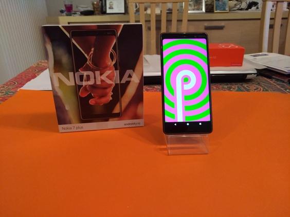 Test du Nokia 7 Plus : le terminal en mode Pie