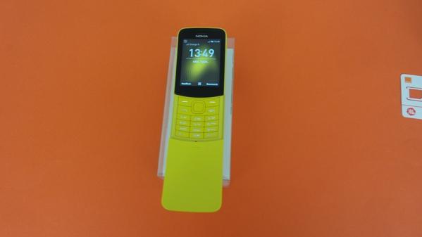 Test du Nokia 8110 4G : le téléphone banane