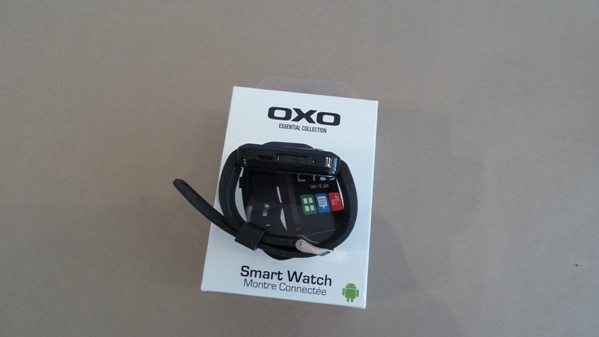 oxo smartwatch - vue 12
