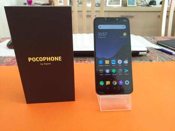 Test du Pocophone F1 by Xiaomi : ça s'agite dans les paddoks!
